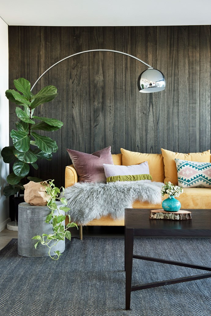 Mixing a variety of textures will automatically up the cosiness-factor in your living room. *Photo: Jody D'Arcy / bauersyndication.com.au*