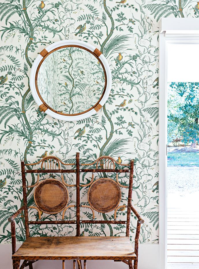 """I wanted the rooms to feel gorgeous, like a hotel, and I think the wallpapers do that. Plus it means you don't have to buy as much art!"" says Hannah."