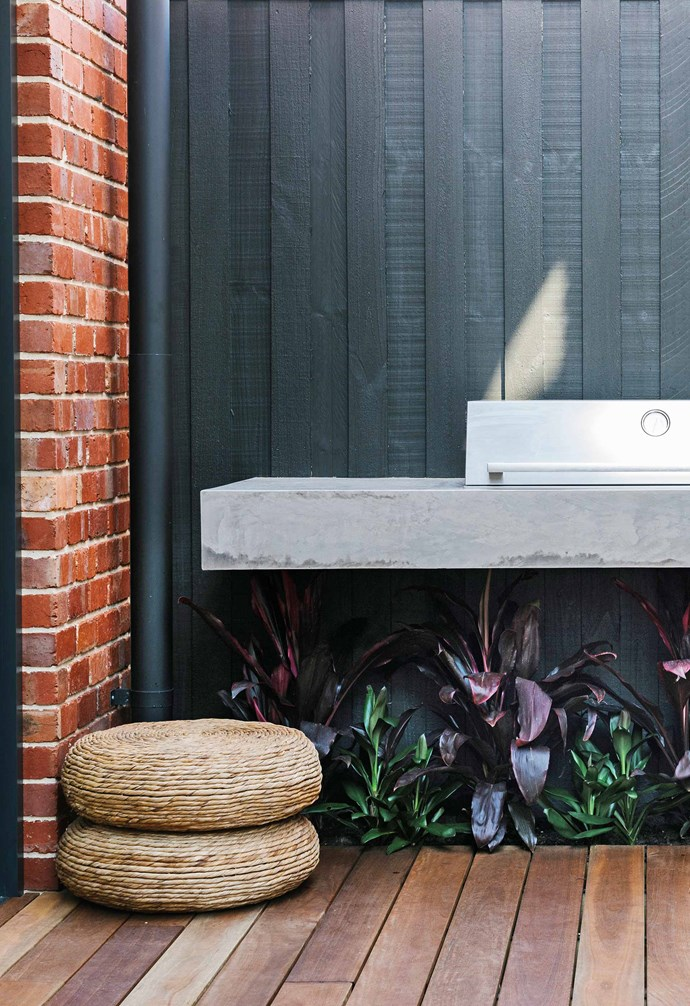 """**Deck** An [outdoor kitchen](https://www.homestolove.com.au/outdoor-kitchen-ideas-6227