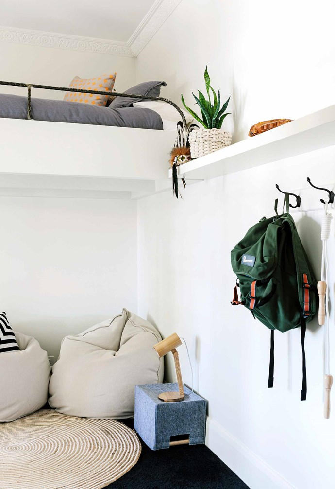 """**Kids' bedroom** Custom loft beds by [MLS Built](http://mlsbuilt.com.au/