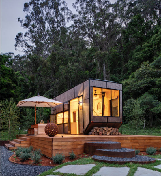 "**CABN, various locations, SA and NSW**<p> <p>In the [Hills region of South Australia](https://www.homestolove.com.au/formal-historic-garden-adelaide-hills-19377|target=""_blank"") is where the vision for CABN – a series of tiny cabins built from local materials promoting an ethos of minimalism, sustainability and off-the-grid living - began. Need a digital detox? Then this is the getaway you have been crying out for! Here you'll find a space that's big on nature, a place you can meditate, a place you can reconnect with yourself and get away from life's distractions. At CABN, the location of your CABN will remain a secret until about a week prior to your stay. How's that for an adventure? <p> <p>**For information and bookings, visit [CABN](https://cabn.life/ 