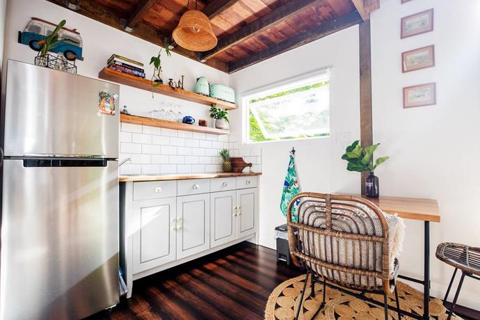 "**HALE DOUGLAS, SUNSHINE BEACH, QLD**<p> <p>Experience the [tiny house movement](https://www.homestolove.com.au/introducing-the-tiny-house-movement-16817|target=""_blank"") by checking into Hale Douglas at Sunshine Beach in Noosa. It's amazing just how many creature comforts have been packed into this tiny space with an equipped kitchenette, indoor and outdoor dining spaces and a beautifully appointed bathroom. It also happens to be set on a large private property with an established tropical garden. Divine.<p> <p>**For information and bookings, visit [Hale Douglas on Airbnb](https://www.airbnb.com.au/rooms/20333211?guests=1&adults=1