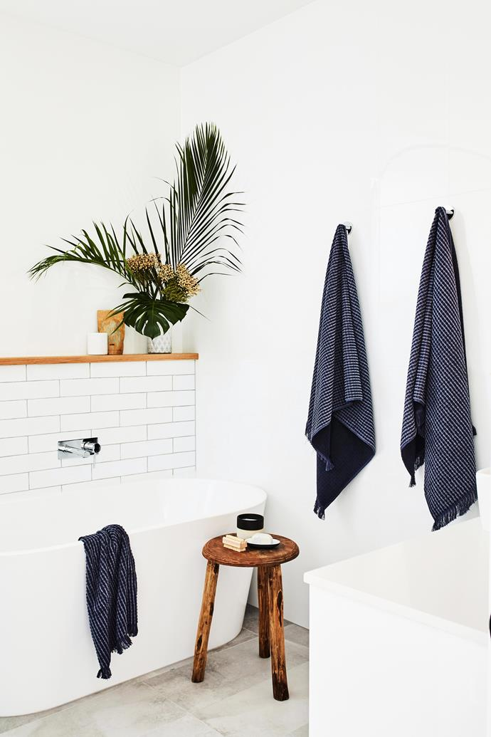 Keep your bathroom well ventilated and don't leave wet towels lying around. *Photo:* Lyden Foss / *bauersyndication.com.au*