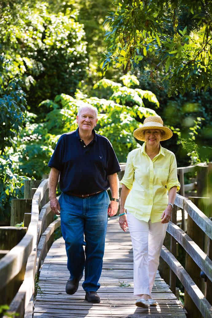 """Ian and Joan have devoted themselves to the garden. Joan is a keen gardener. Ian, she describes as, """"a person who likes a project."""""""