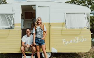 vintage caravan
