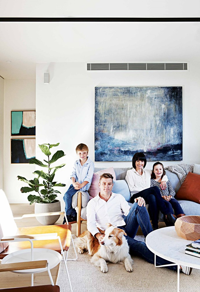 """Now, five years on, the Fortey clan couldn't be happier in their contemporary abode with its three bedrooms, [study](https://www.homestolove.com.au/study-in-style-home-office-inspiration-17422