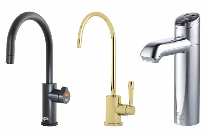 "**Water wise** The hard work is done under the bench – these fixtures top off the job. **Top picks** (from left) Zip 'HydroTap Arc' boiling, chilled and sparkling filtered water tap, $5445, [Winning Appliances](https://www.winningappliances.com.au/|target=""_blank""