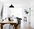 A minimalist monochrome apartment on Sydney's Northern Beaches
