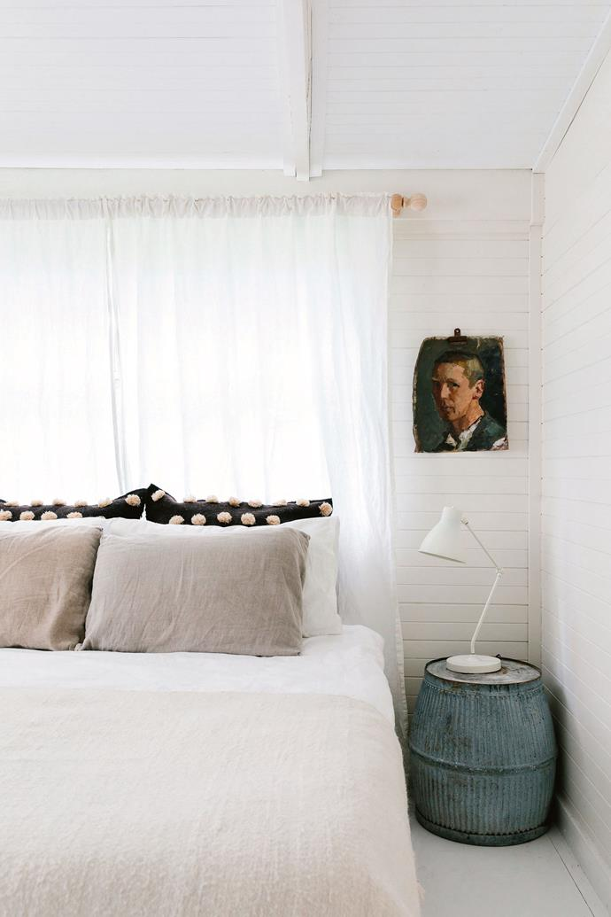 """""""[This house is] so romantic, you can hear the rain on the roof,"""" says Alia. """"There are two [wood-burning fires](https://www.homestolove.com.au/cosy-fireplaces-that-will-warm-your-heart-3475