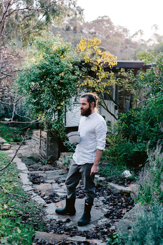 """Scout and Alia love their [country garden](https://www.homestolove.com.au/country-garden-ideas-australia-13701