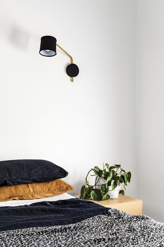 "[Indoor plants purify the air](https://www.homestolove.com.au/the-10-best-air-purifying-plants-4501|target=""_blank""), freshen up the room and promote sleep. *Photo:* Amelia Stanwix"
