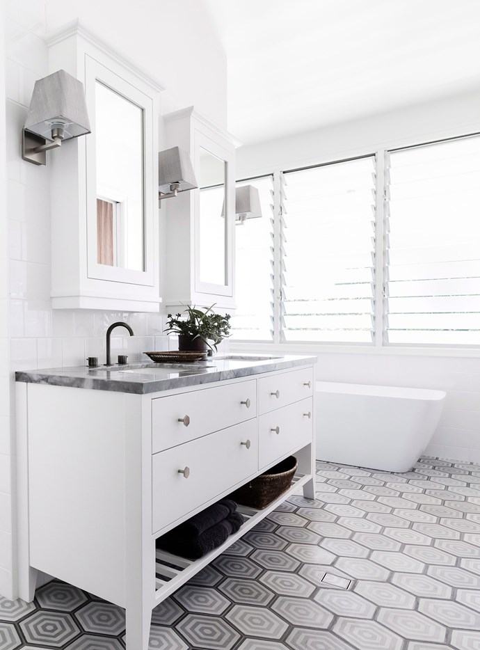 "Vinegar can be used to clean almost every single surface in the bathroom. Just be careful not to use it on delicate surfaces such as natural marble. Here are some better [ways to clean and protect marble](https://www.homestolove.com.au/how-to-clean-marble-benchtops-3745|target=""_blank""). *Photo: Maree Homer / bauersyndication.com.au*"