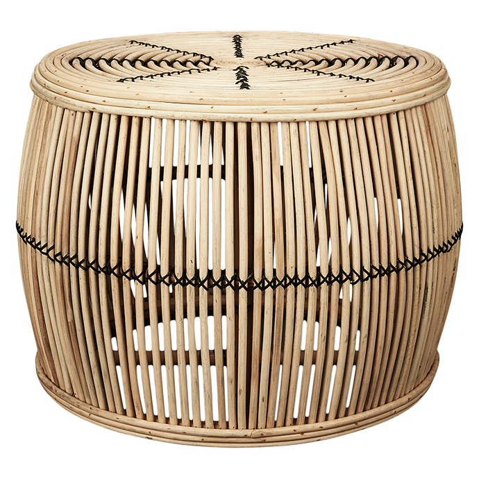 "**Inartisan Ira Rattan Coffee Table, $489, [Zanui](https://www.zanui.com.au/Ira-Rattan-Coffee-Table-140253.html|target=""_blank""