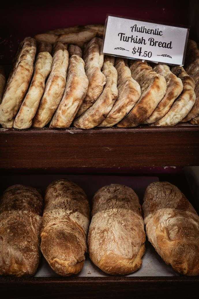 Turkish bread at Wild Rye's Baking Co in Pambula.