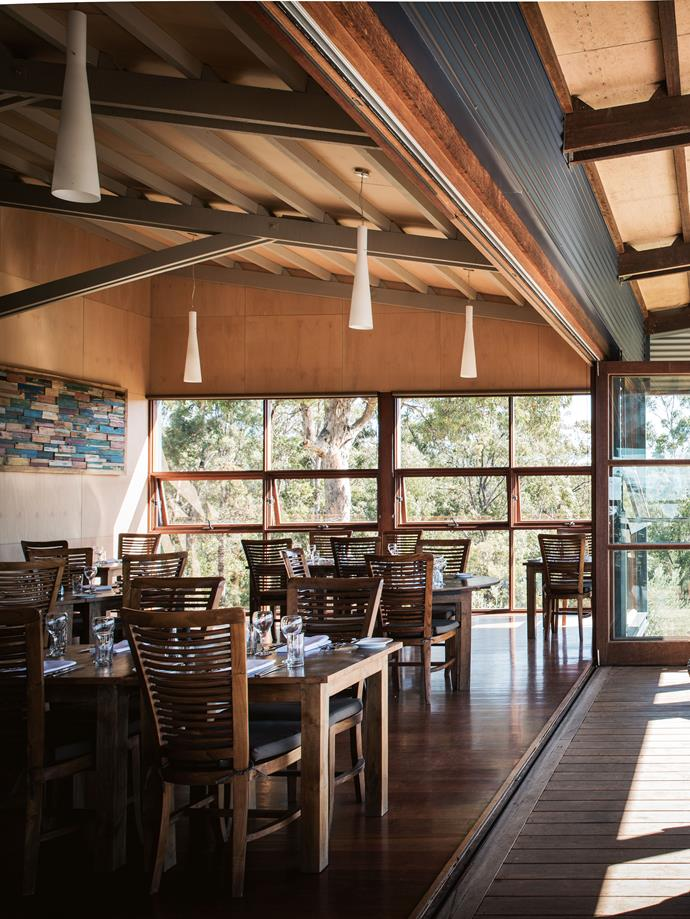Drystone Restaurant at Mimosa Wines near Bermagui.