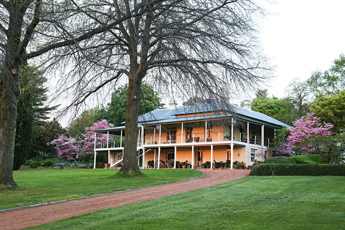 """Built in 1894, the house couldn't have been better sited — which is hardly surprising since Farrer was a contract surveyor with the NSW Department of Lands for many years. """"What they had at their disposal was very limited, so they capitalised on aspect and the proximity to the water,"""" Peter says."""