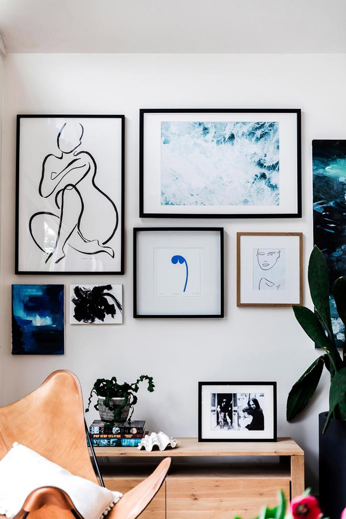 "Always admired the feature gallery walls? [Here's how to make your own](http://www.homestolove.com.au/how-to-create-a-feature-gallery-wall-3411|target=""_blank"")."