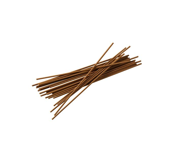 "Next time you burn incense, make it one of these naturally fragrant wood products that are free from perfume and additives.  Australia Sandalwood incense, $30, [Subtle Bodies](https://www.subtle-bodies.com/shop/west-australian-sandalwood|target=""_blank""