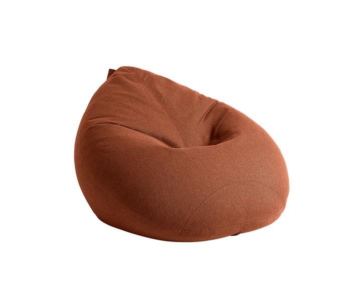 """Handcrafted in New Zealand, these stylish bean bags make for the perfect spot to try a new meditation app (or new TV show).  <br><br> Kyoto Indoor Bean Bag, $695, [Lujo](https://www.lujo.com.au/ 
