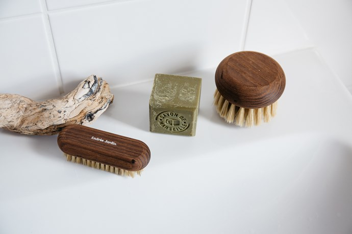 "Make your shower a more stimulating experience with these natural body brushes from Andrée Jardin.  <br><br>  Andrée Jardin body brushes, from $17, [Oliver Thom](https://oliverthom.store/collections/andree-jardin|target=""_blank""
