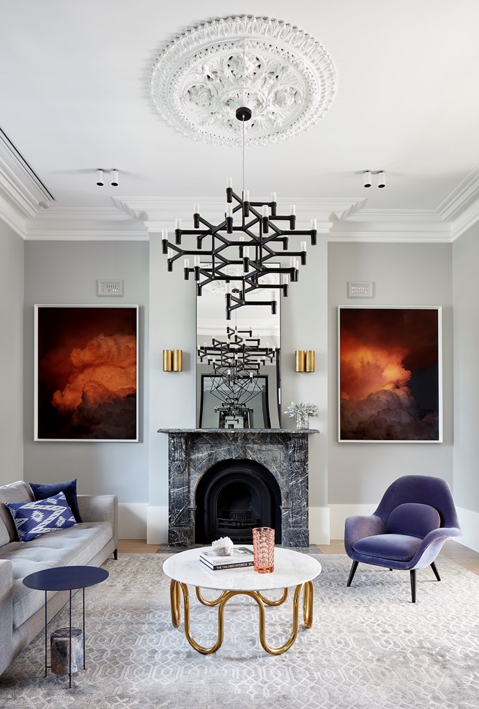 A 19th-century house in inner Melbourne has been given a cool, contemporary update without sacrificing its significant heritage features courtesy of Christopher Elliott Design and Concept Build. *Photograph*: Jack Lovel. From *Belle* November 2018.