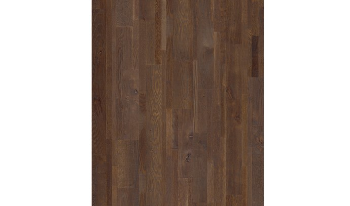 """'Variano' engineered oak in Espresso Blend, $93/m² (supply only) <p> With a rich colour and ultra-matt lacquered finish, these engineered boards will add a sophisticated, contemporary touch to living and dining rooms, and bedrooms. They can be installed with a click-lock system or glued down, making them quick and easy to install. [Quick-Step](https://www.quick-step.com.au/