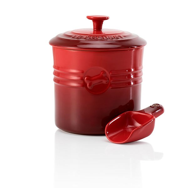 Dog food container, $109