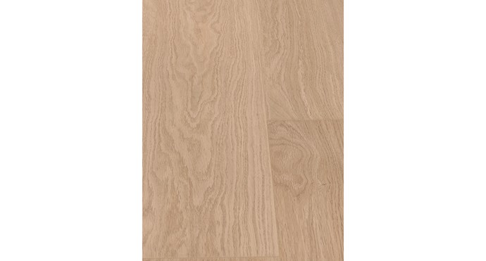 """Quick-Step 'Impressive Ultra' laminate planks in White Varnished Oak, $62/m² (supply only) <p> The authentic woodgrain of these high-quality laminate planks give you the look of timber without the maintenance. This product is also waterproof, making it a great option for kitchens, bathrooms and laundries. [Premium Floors](http://www.premiumfloors.com.au/