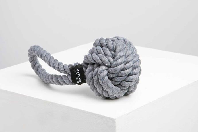 "'Rope' toy rope, $20, [Molly Barker](https://mollybarker.com.au/|target=""_blank""