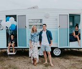 Michael and Carlene's 5 tips for renovating a vintage caravan