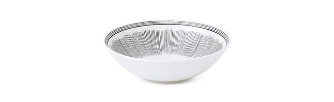 "ED Ellen DeGeneres 'Charcoal Grey Lines' plate, $20, [royaldoulton.com](https://www.royaldoulton.com/|target=""_blank""|rel=""nofollow"")"