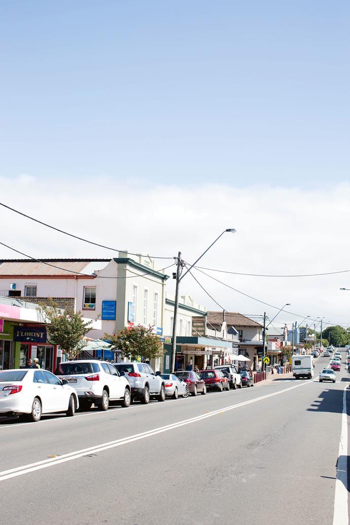 Milton's main street.