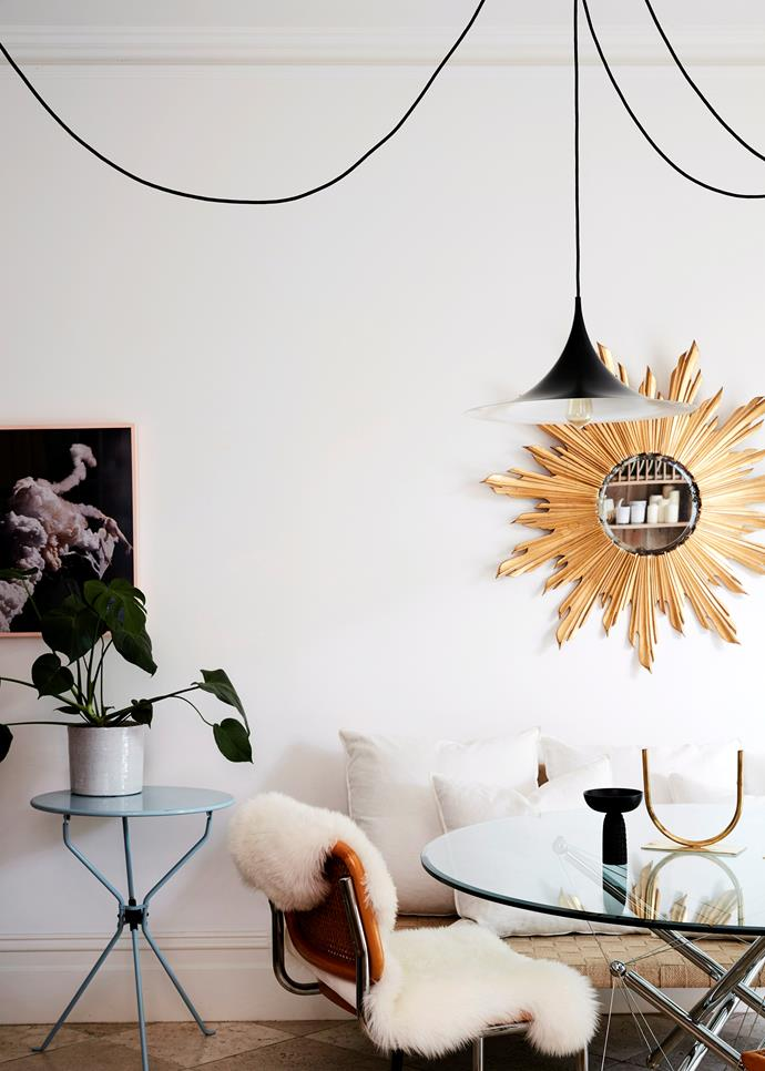 Warm lighting is essential for creating ambience in entertaining spaces. *Photo:*    Sean Fennessy / *bauersyndication.com.au*
