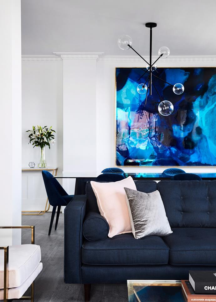 **Add personality with colour:** A much-loved artwork or soft furnishings will brighten up any space, especially if your home has a neutral colour palette. *Photo:* Tess Kelly / *bauersyndication.com.au*