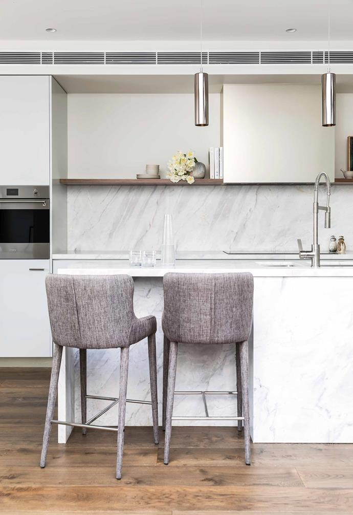 """**Kitchen** Two upholstered [Coco Republic](https://www.cocorepublic.com.au/