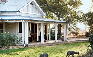 A classic farmhouse with wrap around verandah in Quandialla, NSW