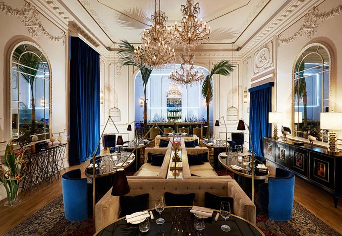 Palazzo Dama's restaurant Pacifico features a Peruvian-Asian menu. *Photograph*: Mr and Mrs Smith