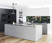 A modern sleek kitchen design for the contemporary home