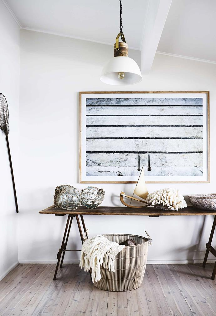 """**Embrace the seaside aesthetic** """"We wanted to create a [modern beach-house](https://www.homestolove.com.au/modern-beach-house-7133