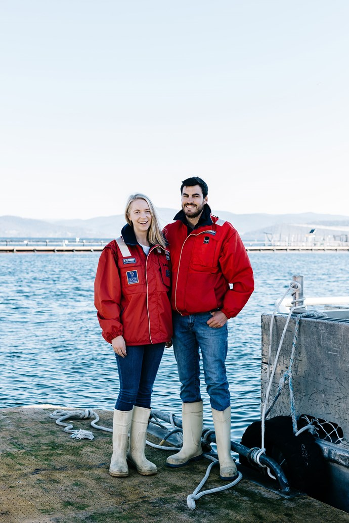"""""""I can't help but be part of it,"""" Laura says. """"I used to run the community grants program [Huon Aquaculture's Helping Hand](https://www.huonaqua.com.au/community-grants/ target=""""_blank"""" rel=""""nofollow""""), which was Mum's idea to give extra help to support sustainable community development, and my job was to get that up and running and now I sit on the decision-making panel for the grant."""""""