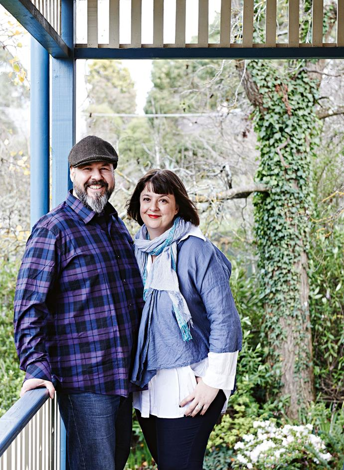 Laurence and Victoria feel at home in Daylesford.