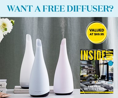 Subscribe to Inside Out magazine and recieve a bonus diffuser