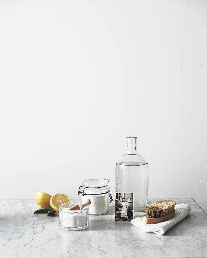 Anne swears by a lemon and salt to sanitise her chopping boards. *Photo: Guy Bailey / Styling: Emmaly Stewart*