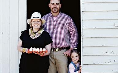 Inside a family-run free-range egg farm near Tamworth