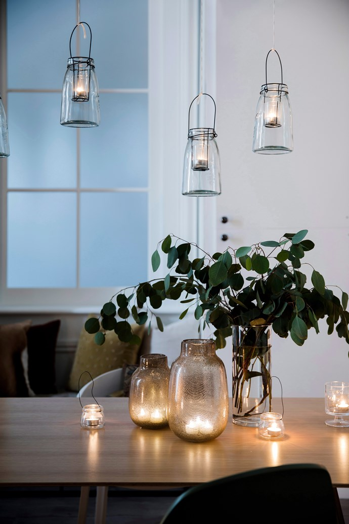 **Use mood lighting:** Candles, tea lights, lanterns and fairy lights will instantly up the ambience and create a magical setting. *Photo:* Chris Warnes / *bauersyndication.com.au*