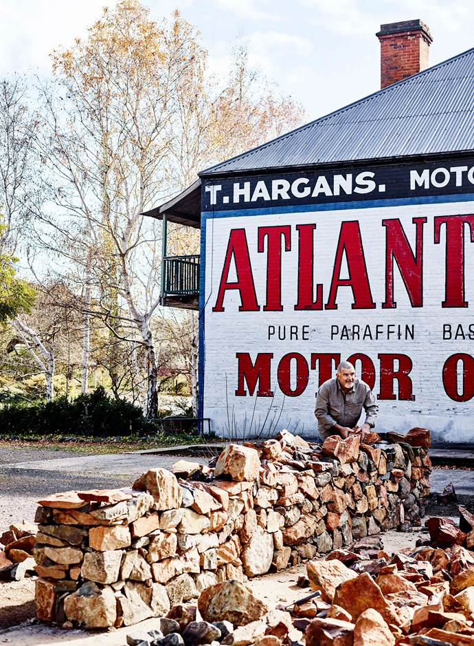 The Atlantic Motor Oil sign on the neighbouring building is evidence of the property's past.