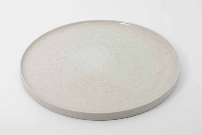 "'White Speckle' platter, $41, [Ghost Wares](https://www.ghostwares.com.au/|target=""_blank""