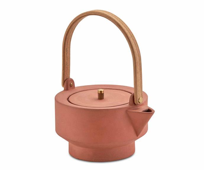 "Skagerak 'Edge' teapot, $250, [Top3 By Design](https://top3.com.au/|target=""_blank""|rel=""nofollow"")."