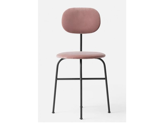 "MENU Afteroom Dining Chair Plus, Black/Dusty Rose, $860, [Designstuff](https://www.designstuff.com.au/pre-order-menu-afteroom-dining-chair-plus-black-dusty-rose/|target=""_blank""|rel=""nofollow"")"