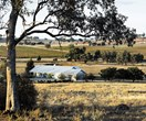 An open plan shed home with sunny colour palette in Canowindra, NSW